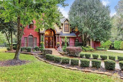 Conroe Single Family Home Pending: 7266 Teaswood Drive