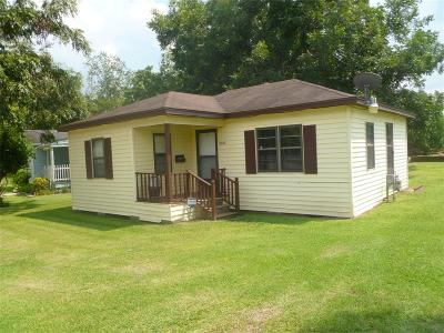 Alvin Single Family Home For Sale: 208 Old Galveston Road