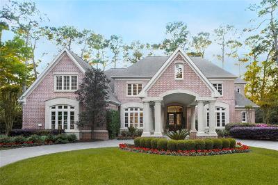 Houston Single Family Home For Sale: 135 Hickory Ridge Drive