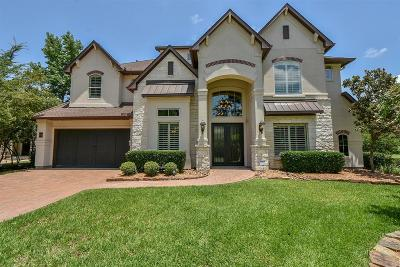 The Woodlands Single Family Home For Sale: 23 Signature Crest Court