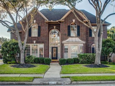 Sugar Land Single Family Home For Sale: 8519 Hillsboro Place