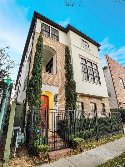 Houston Condo/Townhouse For Sale: 306 W Bell Street