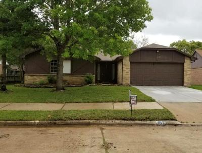 Pearland Single Family Home For Sale: 911 W Primrose Meadows Circle