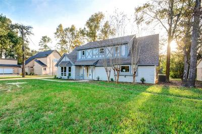 Conroe Single Family Home For Sale: 529 Brandon Road