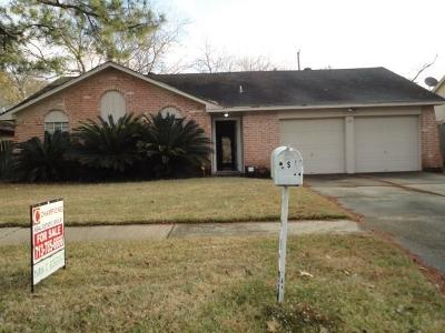 Sugar Land Single Family Home For Sale: 13631 Greenway Dr