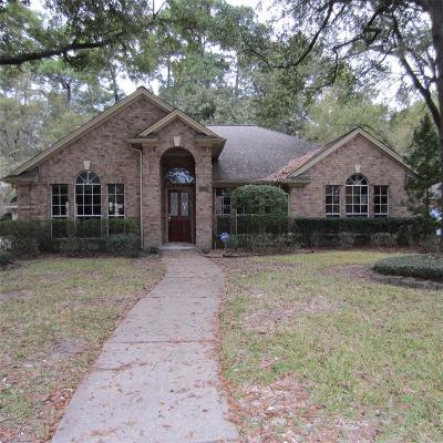 Houston Single Family Home For Sale: 206 Wood Circle Lane