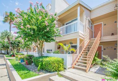 Galveston Condo/Townhouse For Sale: 3506 Cove View Boulevard #109