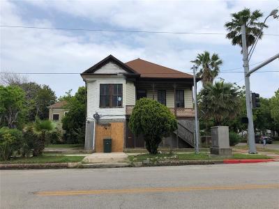 Galveston Single Family Home For Sale: 1824 27th Street