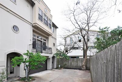 Houston Condo/Townhouse For Sale: 2148 Kipling Street #D