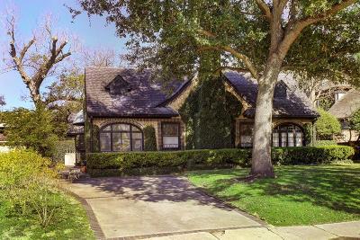 River Oaks Single Family Home For Sale: 2114 Pelham Drive