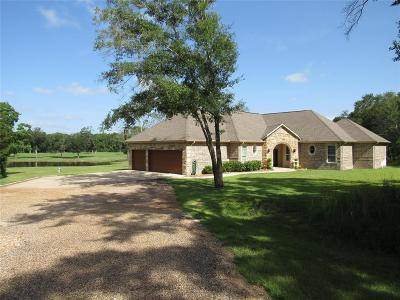 Bellville Single Family Home For Sale: 533 Meadow Creek Road