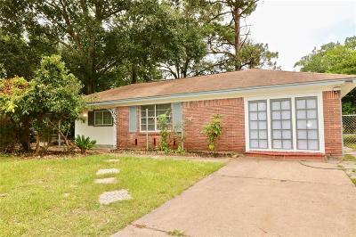 Houston Single Family Home For Sale: 6346 Hartwick Road