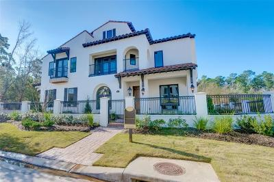 The Woodlands Condo/Townhouse For Sale: 106 Lakeside Cove