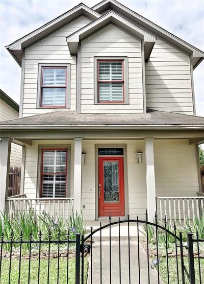 Houston Single Family Home For Sale: 921 A W 25th Street