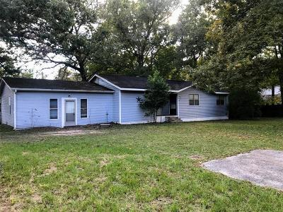 Conroe Single Family Home For Sale: 14018 Fm 1484 Road