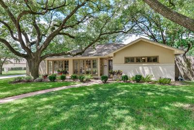 Houston Single Family Home For Sale: 7222 Northampton