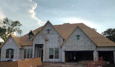 Fulbrook On Fulshear Creek Single Family Home For Sale: 5403 Song Bird Lane