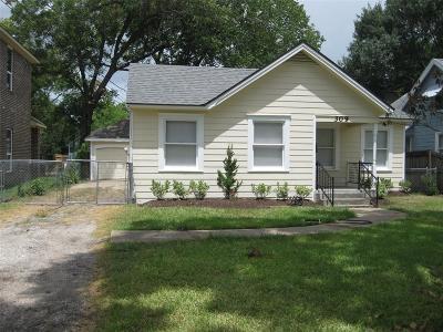 Pasadena Single Family Home For Sale: 309 Live Oak Street