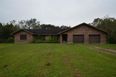 Alvin Single Family Home For Sale: 725 Thompson Road