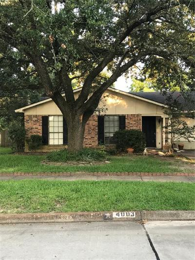 Spring Single Family Home For Sale: 4003 Lost Oak Drive