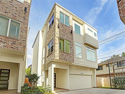 Houston Single Family Home For Sale: 6007 San Felipe Street