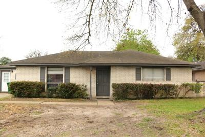 Houston Single Family Home For Sale: 311 E West Road