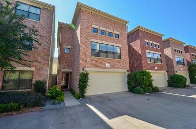 Houston Single Family Home For Sale: 650 Westcross Street #90