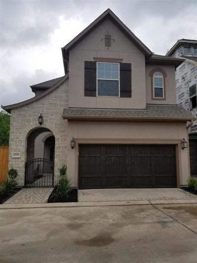 Houston Single Family Home For Sale: 1709 Waterbury Way