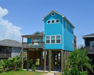 Galveston TX Single Family Home For Sale: $375,000