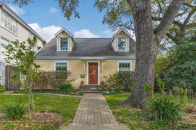 Houston Single Family Home For Sale: 2302 Albans Road