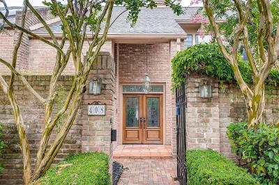 Houston Condo/Townhouse For Sale: 408 E Fair Harbor Lane