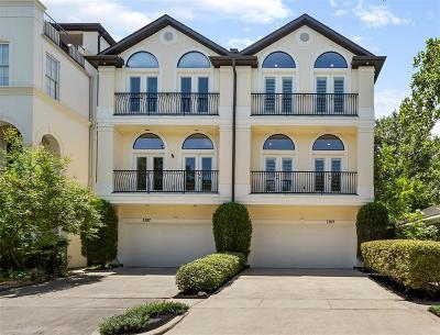 Houston Condo/Townhouse For Sale: 1309 W Bell Street