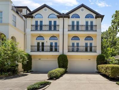 Houston TX Condo/Townhouse For Sale: $620,000