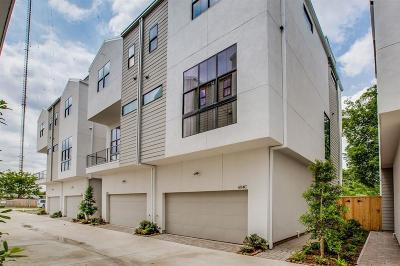 Houston Condo/Townhouse For Sale: 604 Middle Street #F