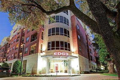 Houston Condo/Townhouse For Sale: 300 St Joseph Parkway #316