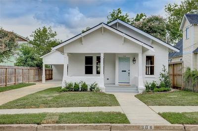 Houston Single Family Home For Sale: 308 Woodland Street