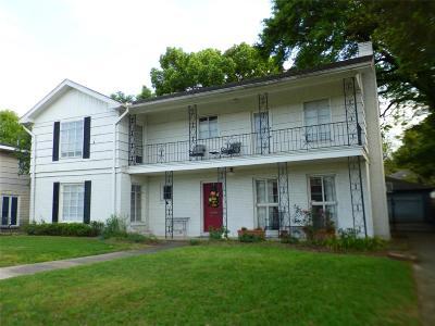 Houston Single Family Home For Sale: 3763 Gramercy