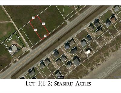 Galveston Residential Lots & Land For Sale: Lot 1(1-2) Seabird Acres