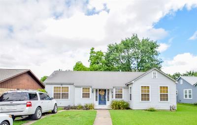 Schulenburg Single Family Home For Sale: 207 Simpson Street