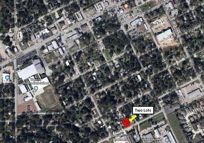 Tomball Residential Lots & Land For Sale: 610 & 616 James Street