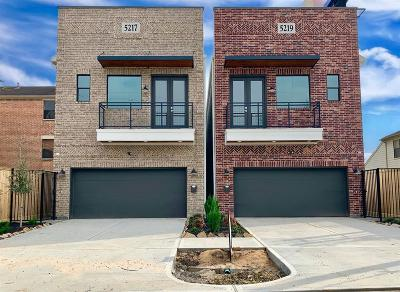 Houston Single Family Home For Sale: 5215 Cornish