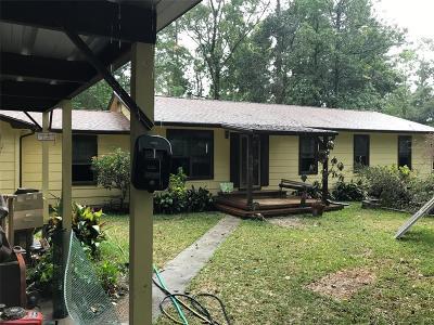 Kingwood Single Family Home For Sale: 21826 Walnut Road