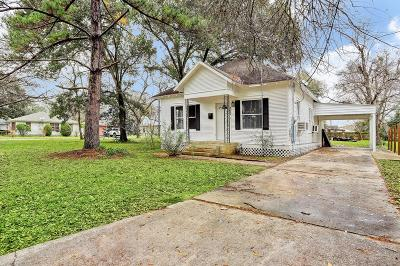 Sealy Single Family Home For Sale: 802 Fowlkes Street