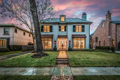 Houston Single Family Home For Sale: 3800 Chevy Chase Drive