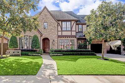 Houston Single Family Home For Sale: 6127 Chevy Chase Drive