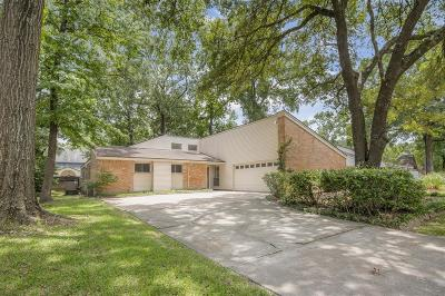 Kingwood Single Family Home For Sale: 3510 Forest Village Drive