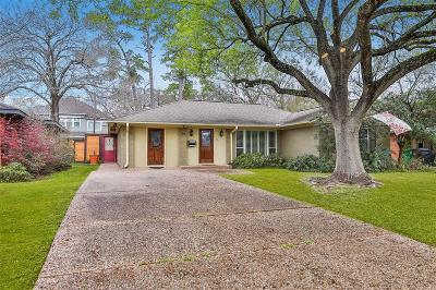 Houston Single Family Home For Sale: 1414 Thornton Road