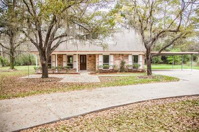 Spring Single Family Home For Sale: 4350 W Mossy Oaks Road
