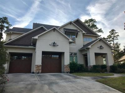 The Woodlands Single Family Home For Sale: 11 Pebble Cove Court