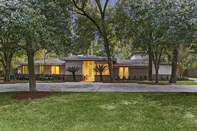 Houston TX Single Family Home For Sale: $1,925,000